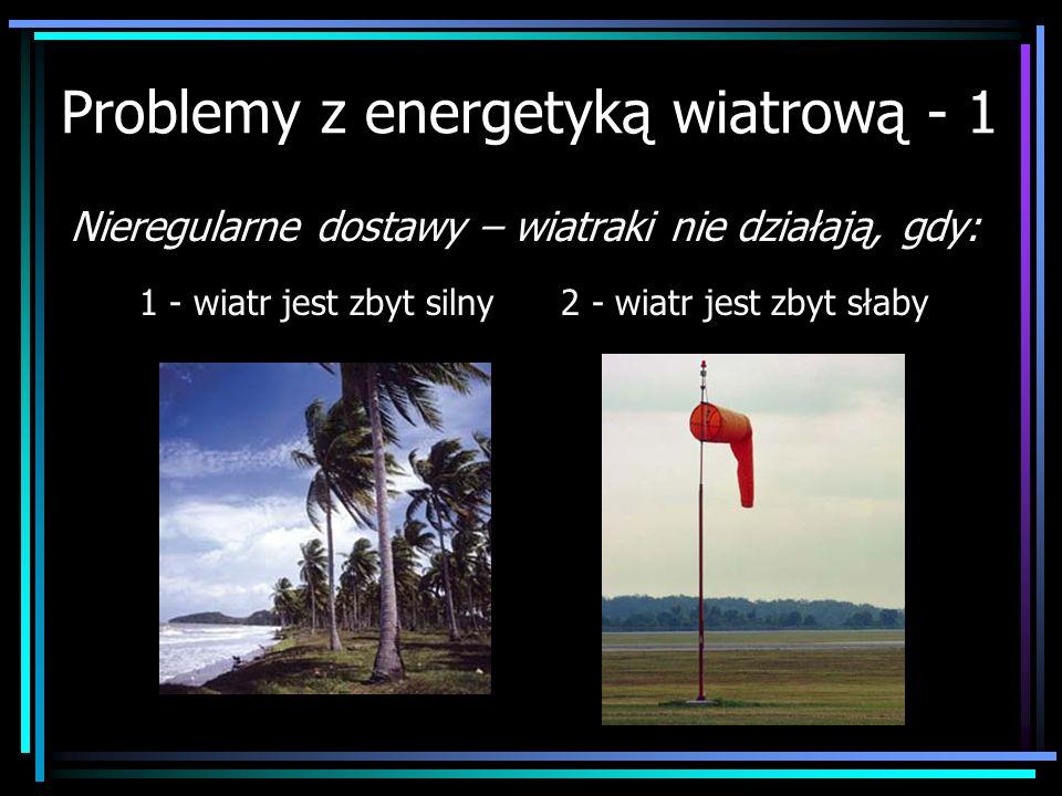 Problemy z energetyką wiatrową - 1