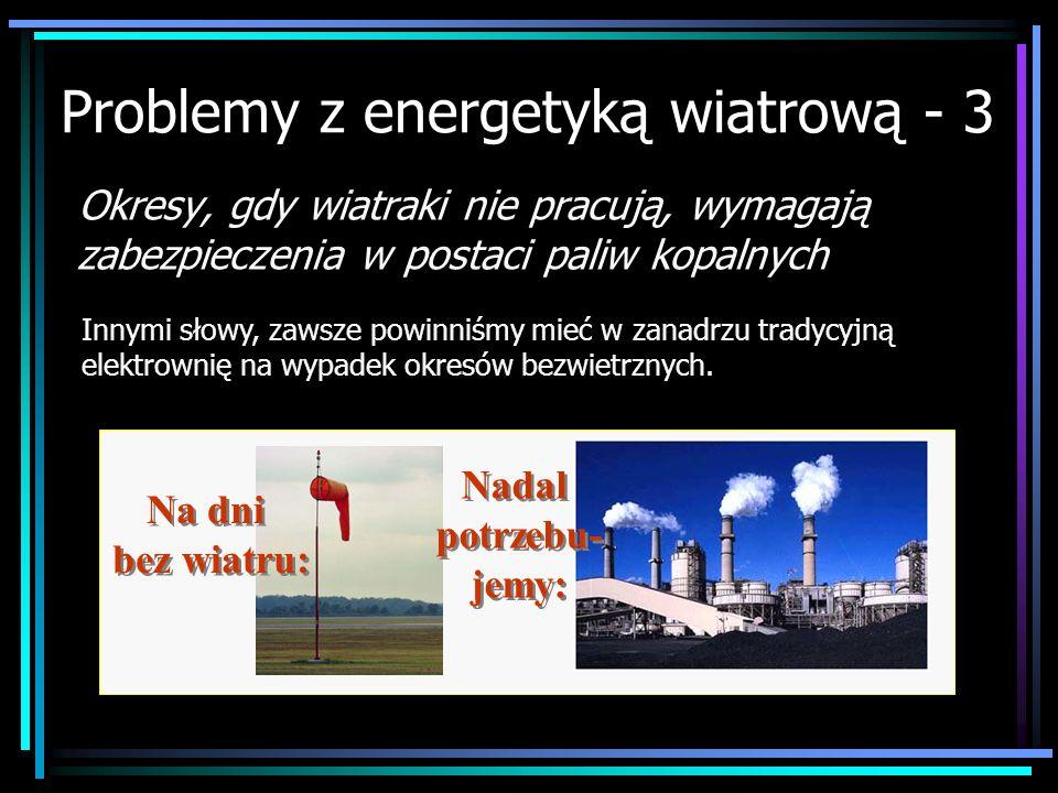 Problemy z energetyką wiatrową - 3