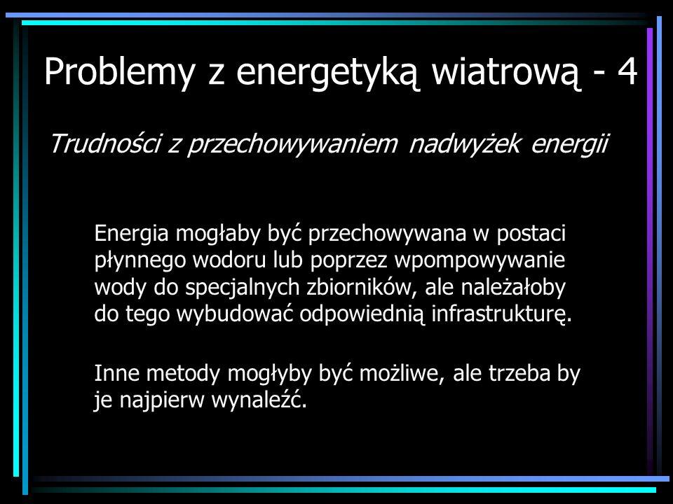 Problemy z energetyką wiatrową - 4