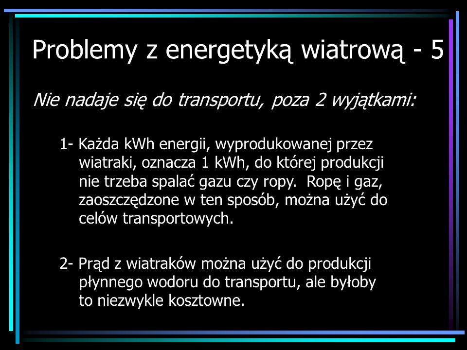 Problemy z energetyką wiatrową - 5