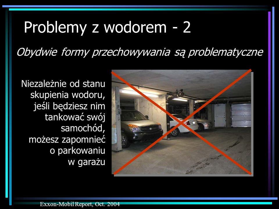 Problemy z wodorem - 2 Obydwie formy przechowywania są problematyczne