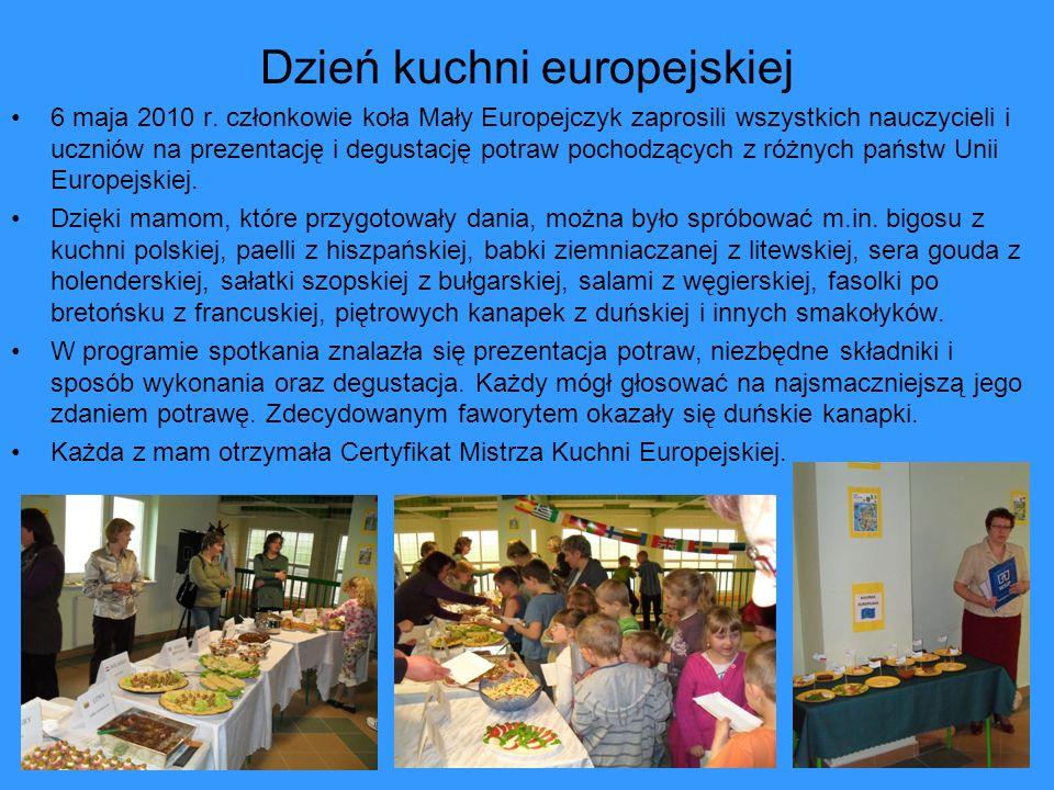 Dzień kuchni europejskiej