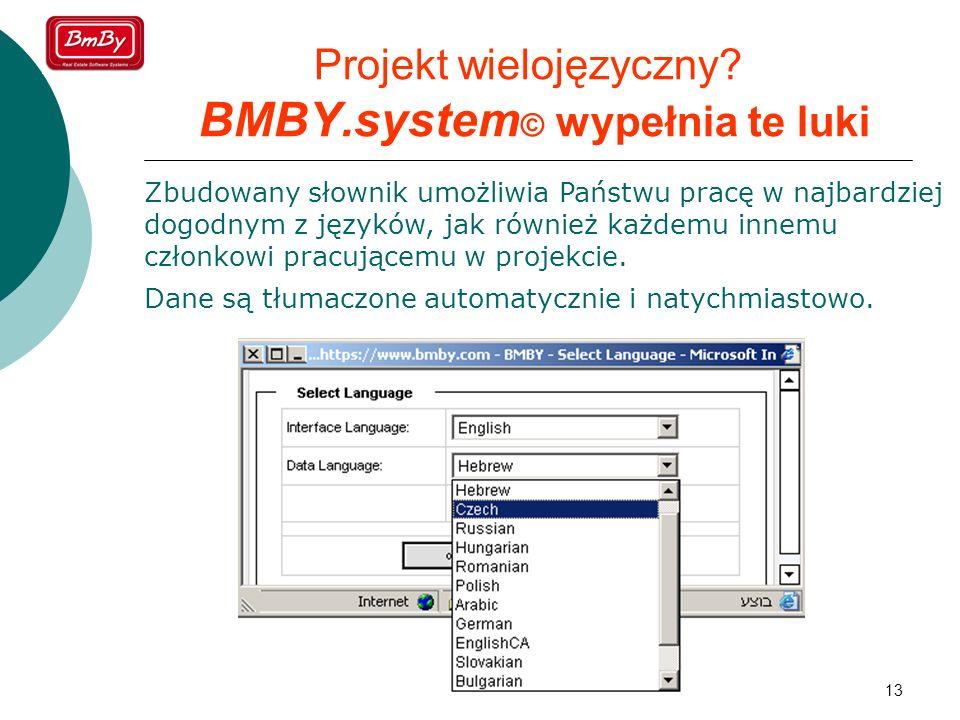Projekt wielojęzyczny BMBY.system© wypełnia te luki