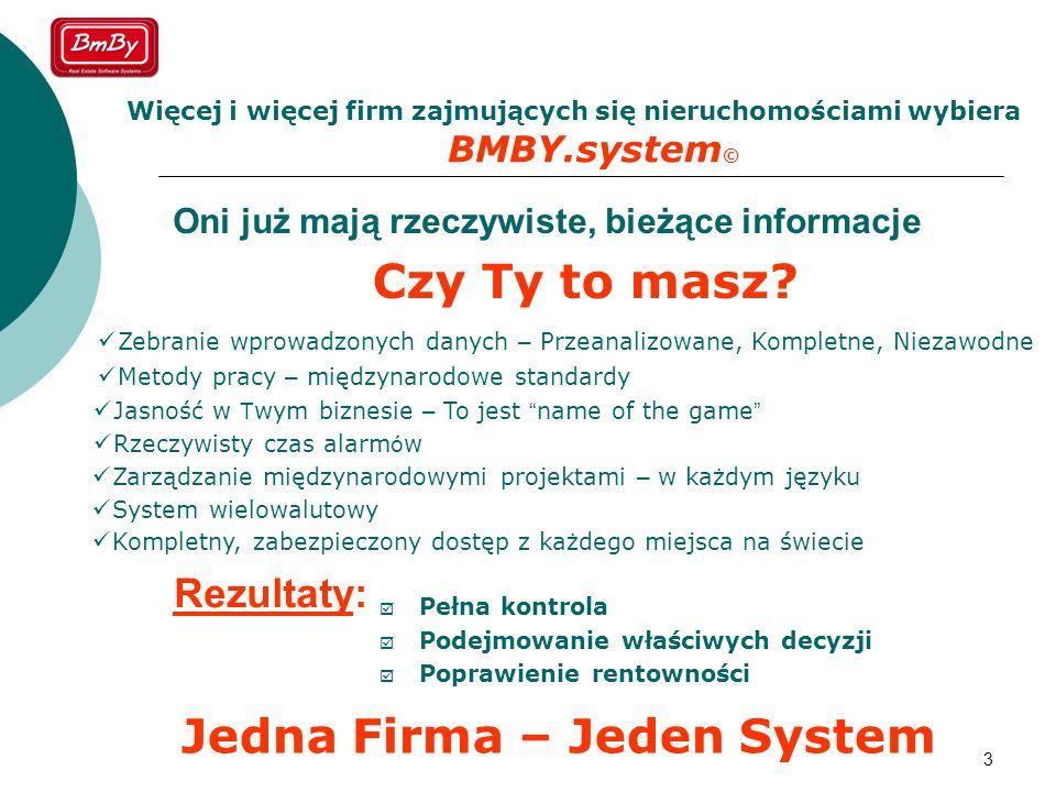 Jedna Firma – Jeden System