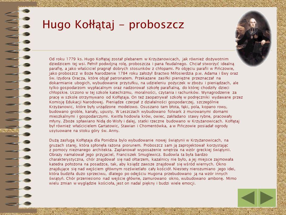 Hugo Kołłątaj - proboszcz