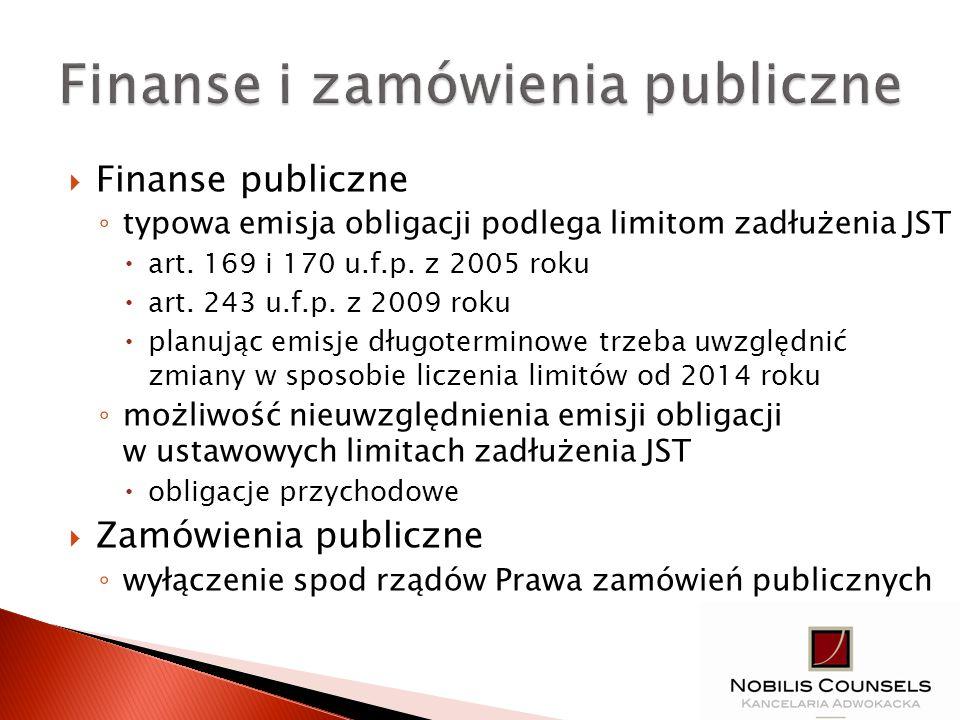 Finanse i zamówienia publiczne