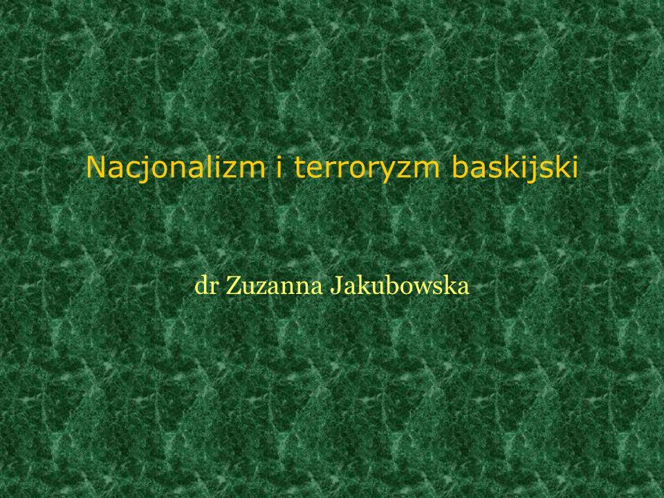 Nacjonalizm i terroryzm baskijski