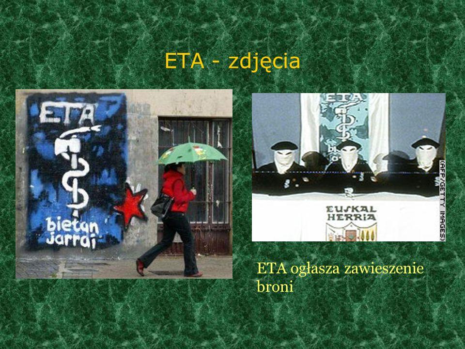 ETA - zdjęcia ETA ogłasza zawieszenie broni