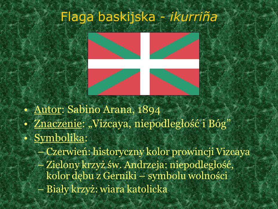 Flaga baskijska - ikurriña
