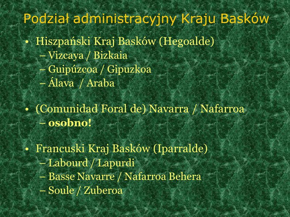 Podział administracyjny Kraju Basków