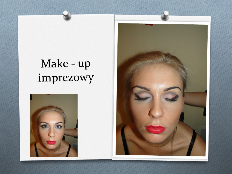 Make - up imprezowy