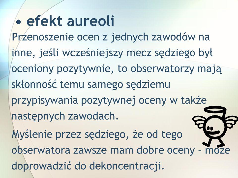• efekt aureoli
