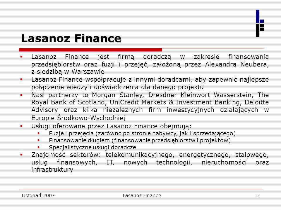 Lasanoz Finance