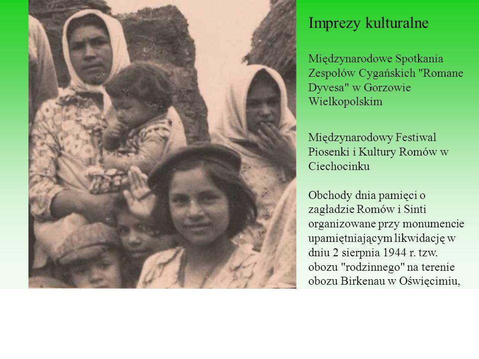 Imprezy kulturalne Międzynarodowe Spotkania Zespołów Cygańskich Romane Dyvesa w Gorzowie Wielkopolskim