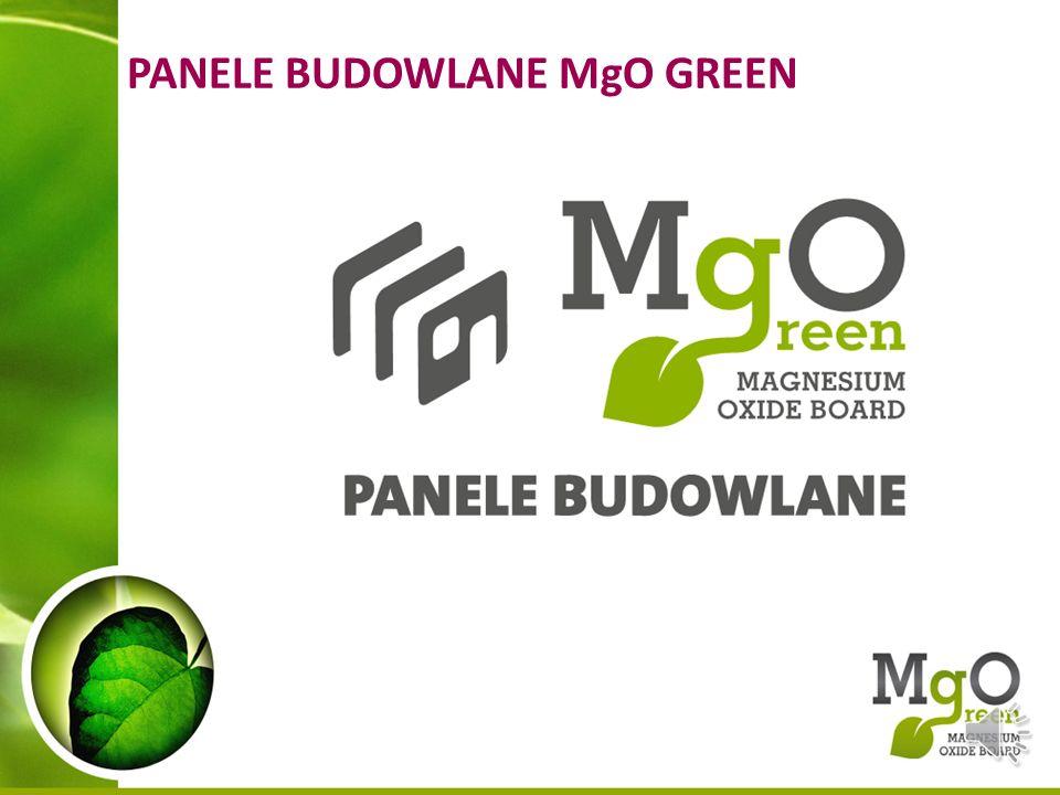 PANELE BUDOWLANE MgO GREEN