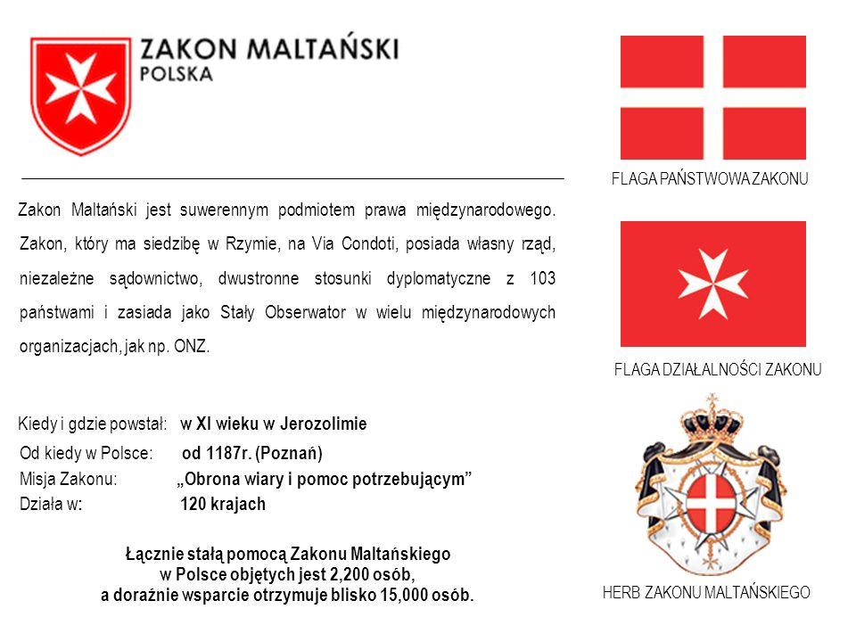 FLAGA DZIAŁALNOŚCI ZAKONU