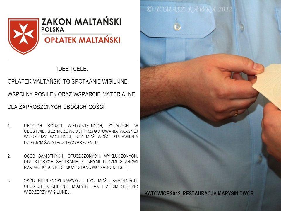 KATOWICE 2012, RESTAURACJA MARYSIN DWÓR