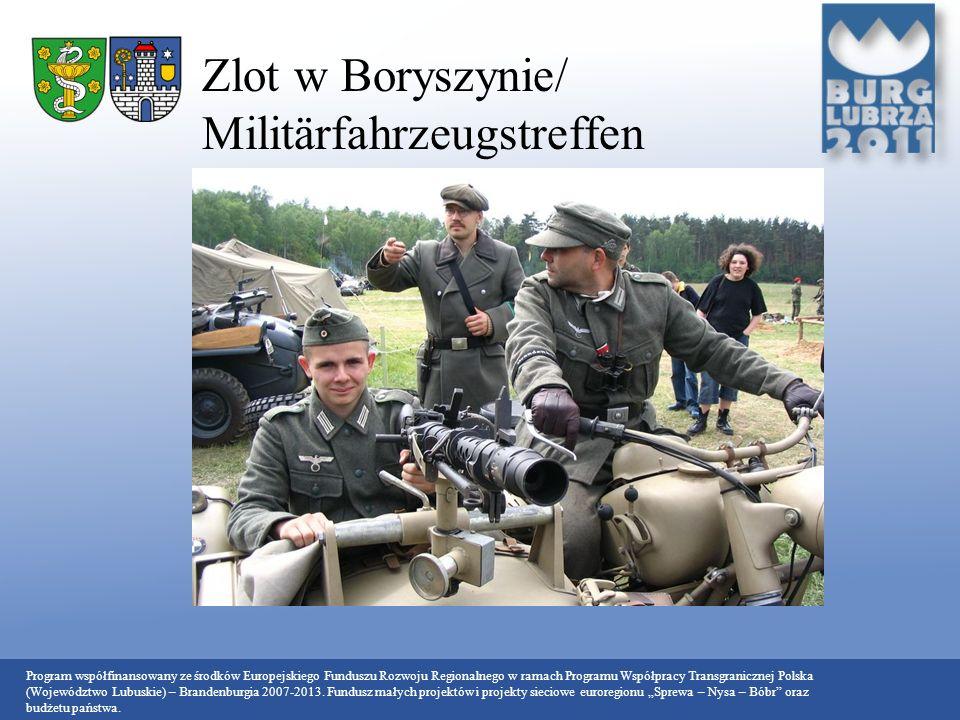 Zlot w Boryszynie/ Militärfahrzeugstreffen