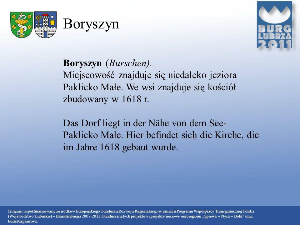 Boryszyn Boryszyn (Burschen).