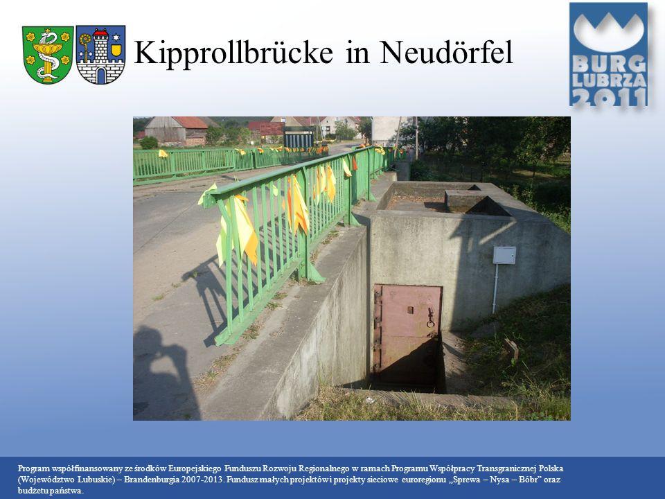 Kipprollbrücke in Neudörfel
