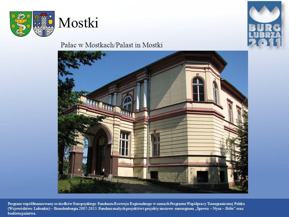 Mostki Pałac w Mostkach/Palast in Mostki