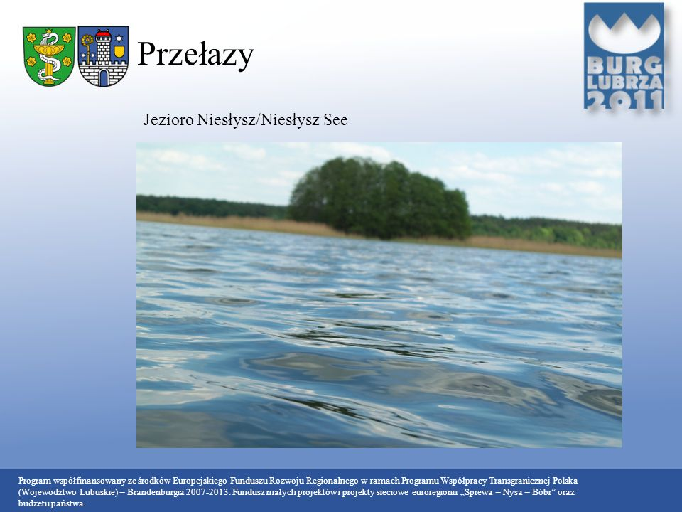 Przełazy Jezioro Niesłysz/Niesłysz See