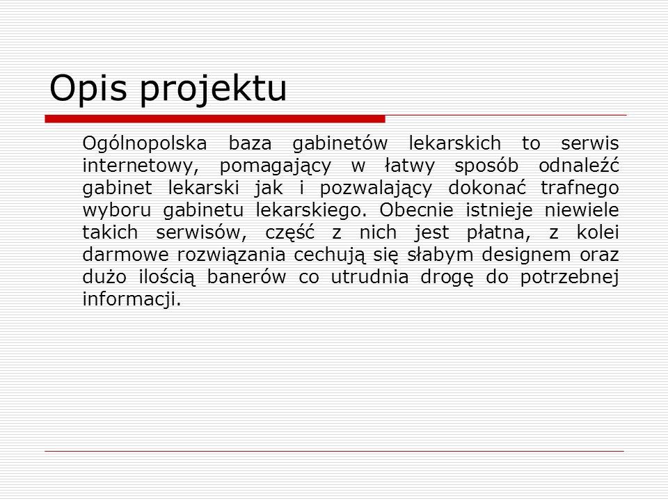 Opis projektu