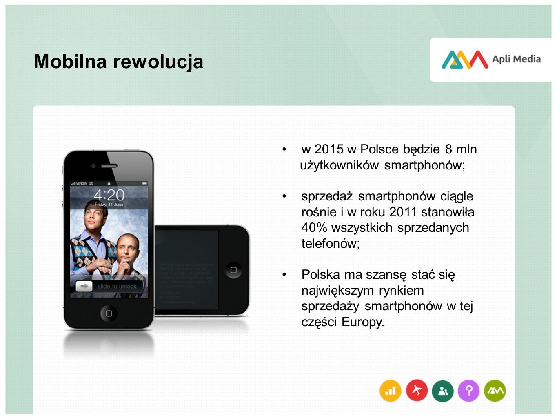 Mobilna rewolucja w 2015 w Polsce będzie 8 mln