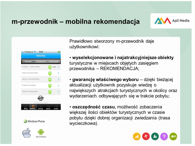 m-przewodnik – mobilna rekomendacja