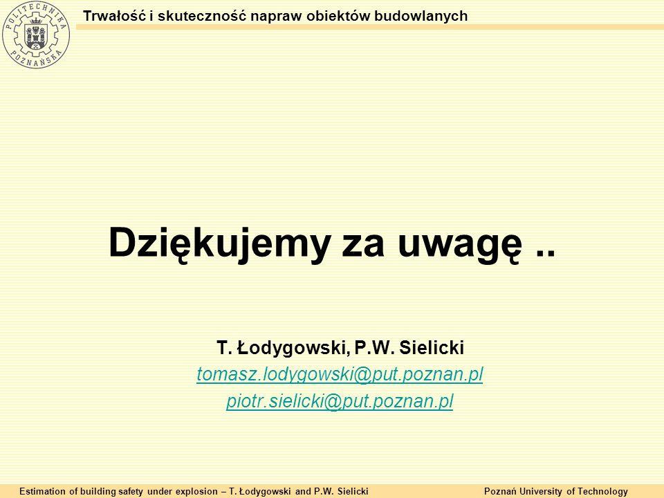 T. Łodygowski, P.W. Sielicki