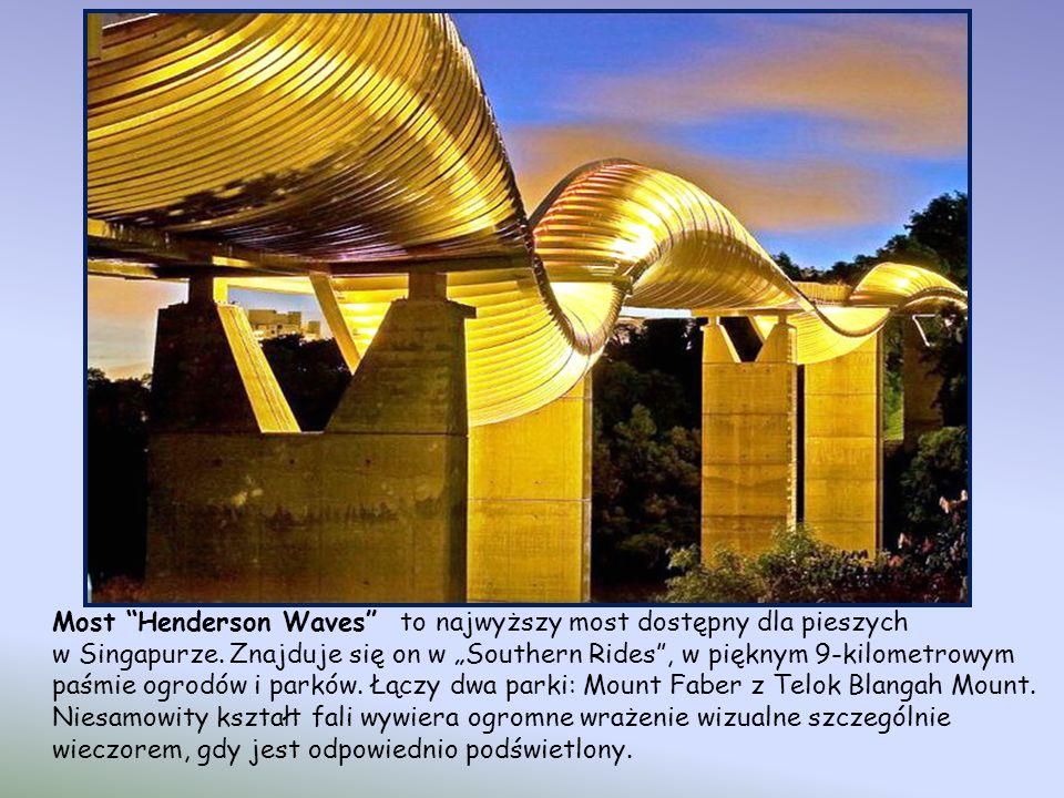 Most Henderson Waves to najwyższy most dostępny dla pieszych