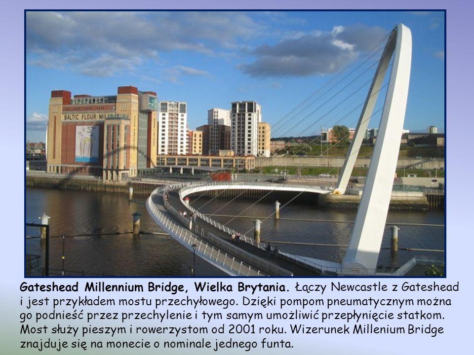 Gateshead Millennium Bridge, Wielka Brytania
