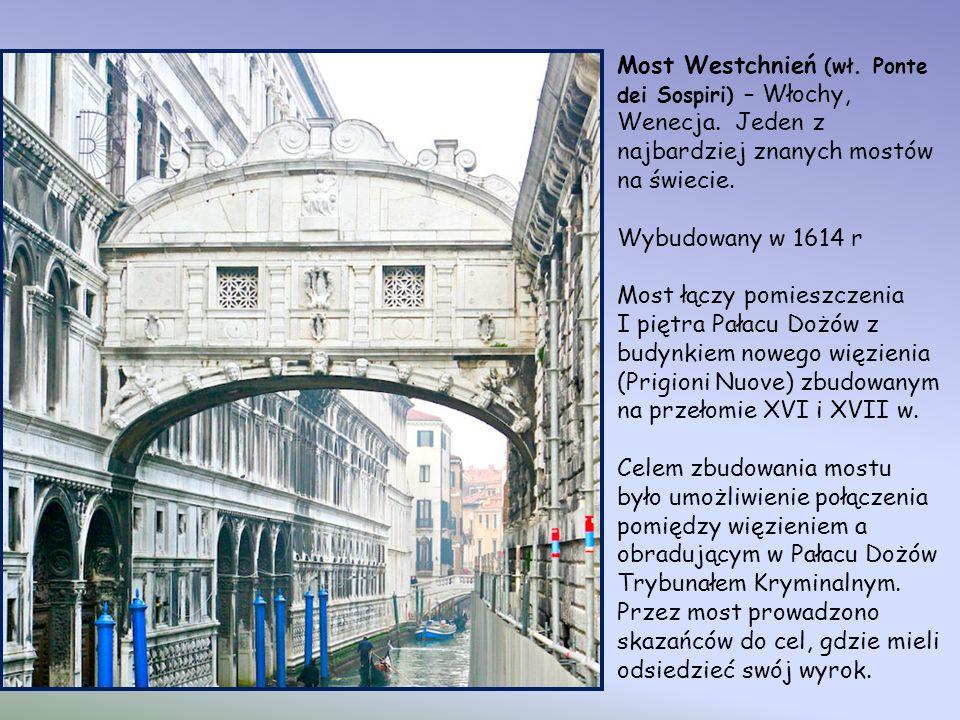 Most Westchnień (wł. Ponte dei Sospiri) – Włochy, Wenecja
