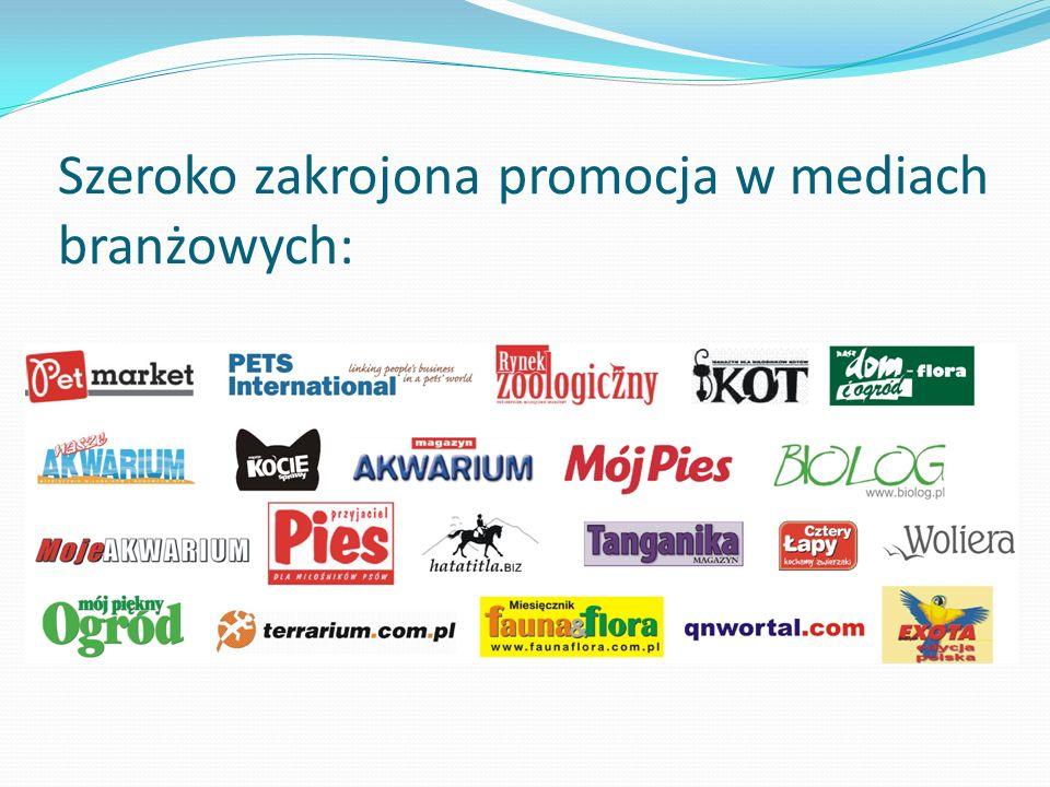 Szeroko zakrojona promocja w mediach branżowych: