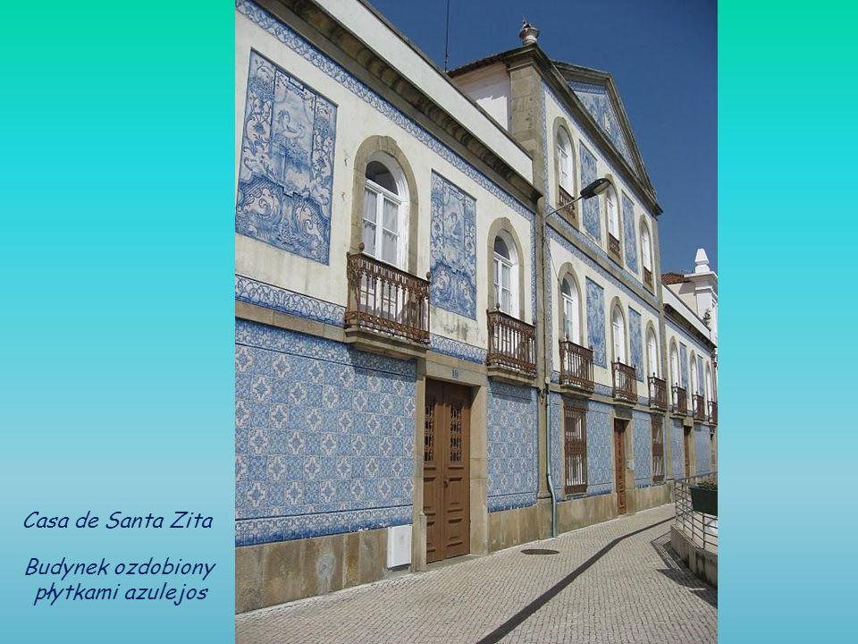 Casa de Santa Zita Budynek ozdobiony płytkami azulejos
