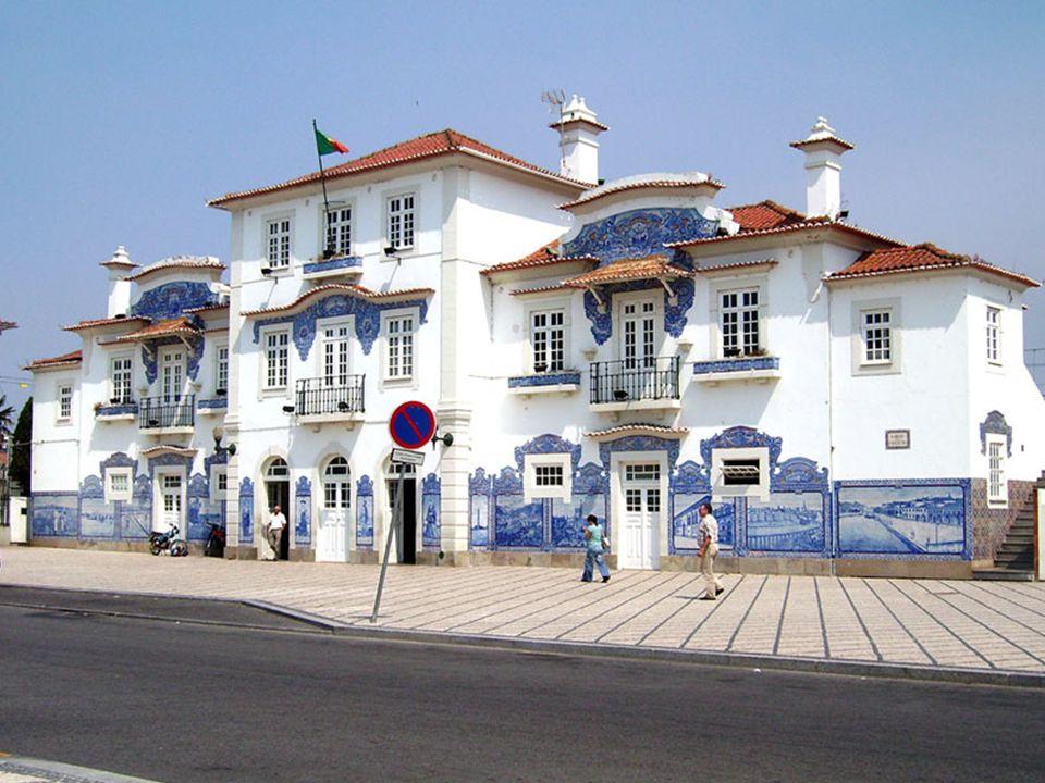 Dworzec kolejowy w Aveiro