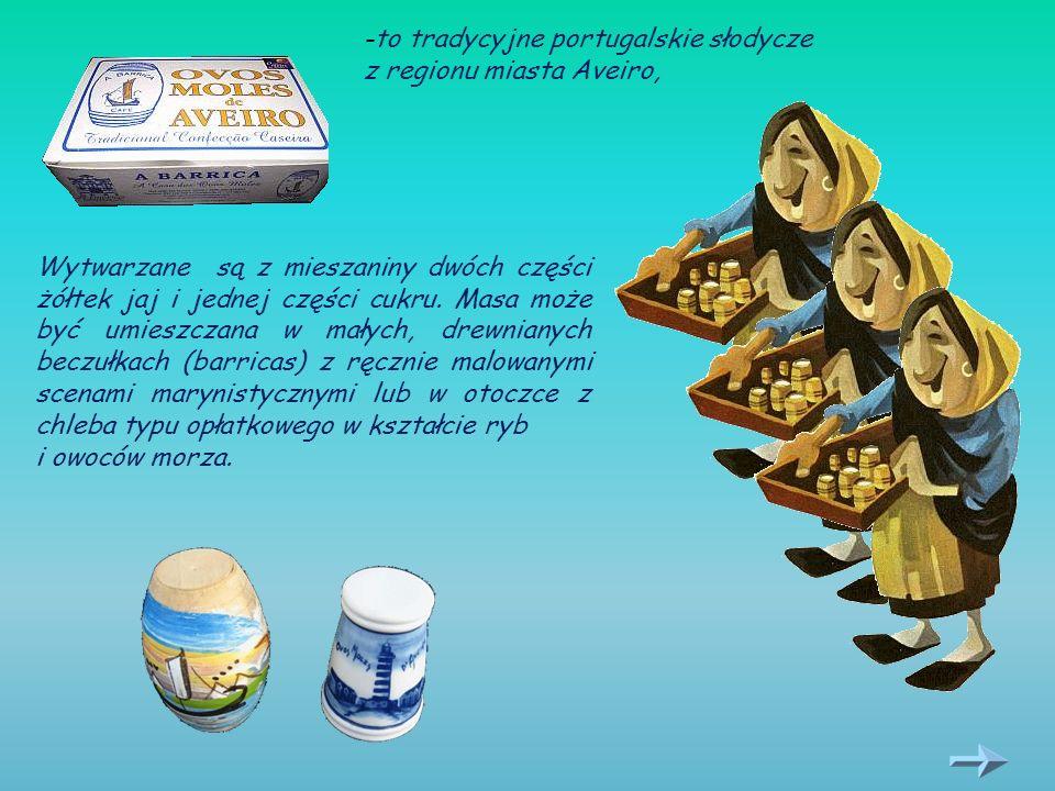 -to tradycyjne portugalskie słodycze