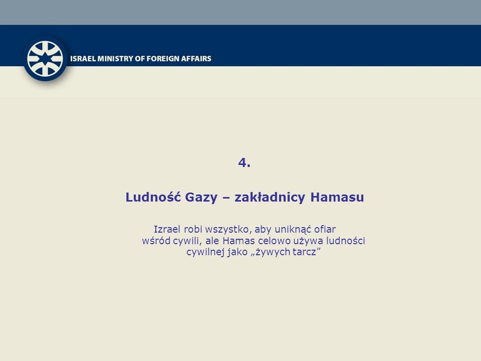 Ludność Gazy – zakładnicy Hamasu