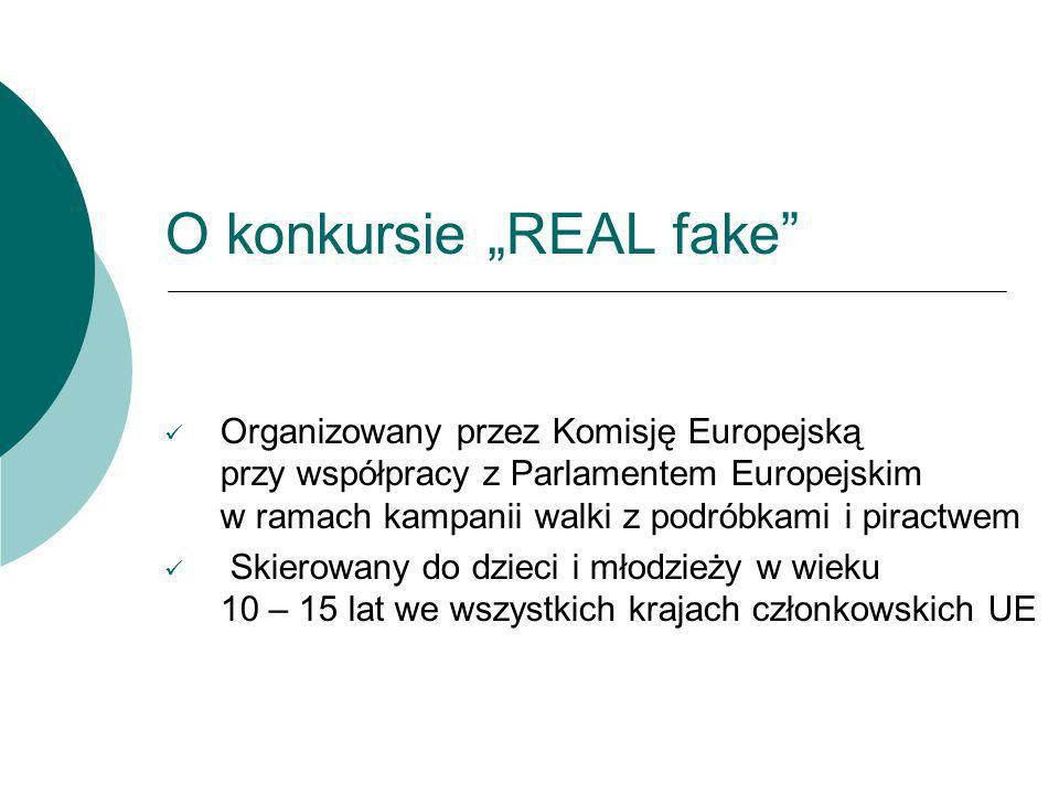 "O konkursie ""REAL fake"