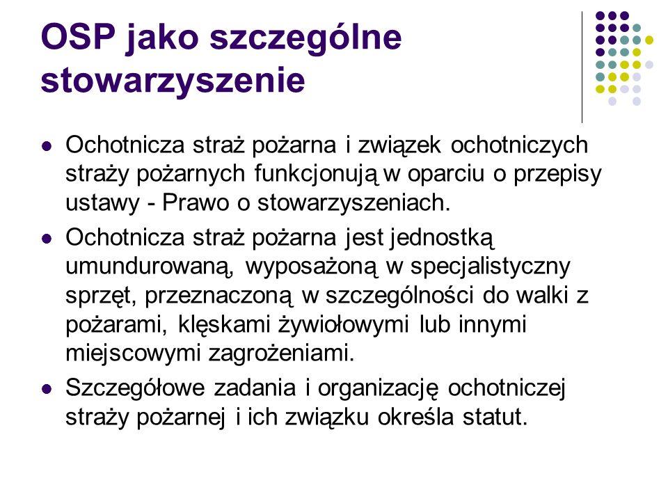 OSP jako szczególne stowarzyszenie