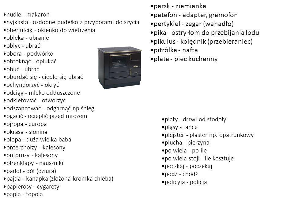 patefon - adapter, gramofon pertykiel - zegar (wahadło)