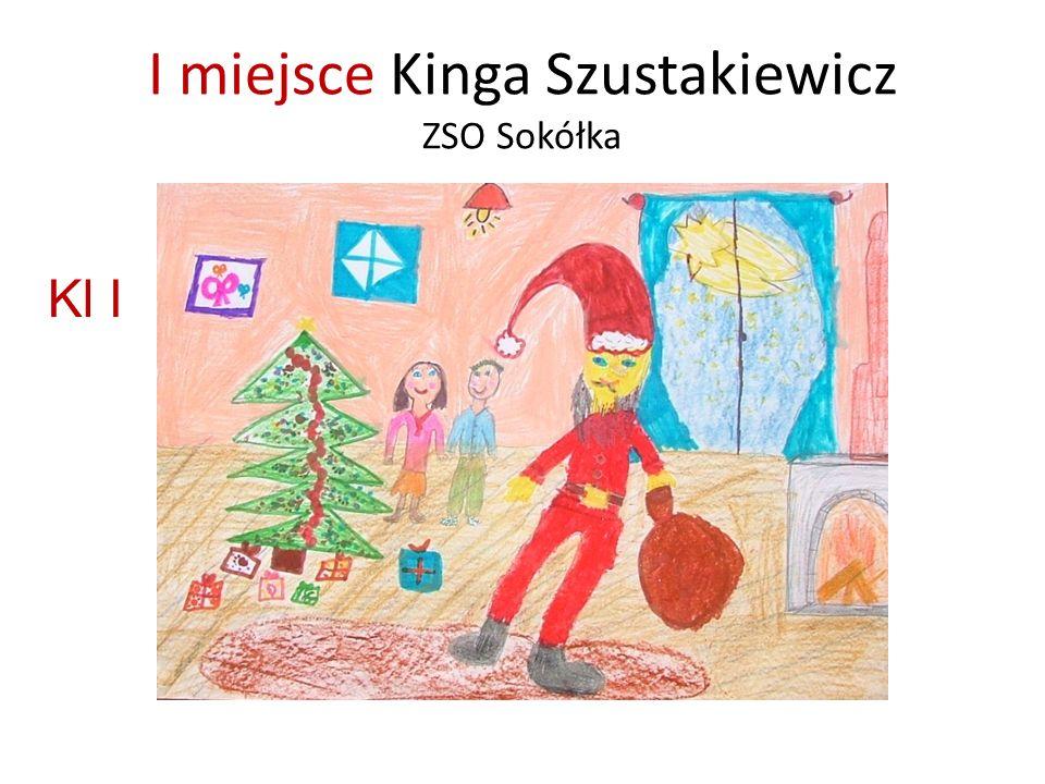 I miejsce Kinga Szustakiewicz ZSO Sokółka