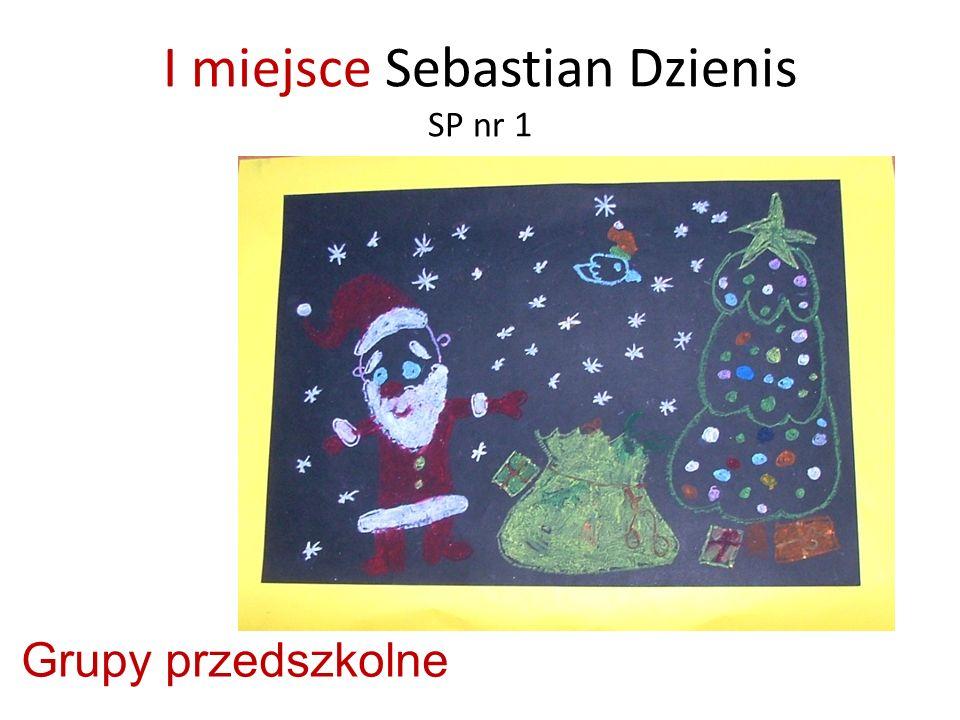 I miejsce Sebastian Dzienis SP nr 1