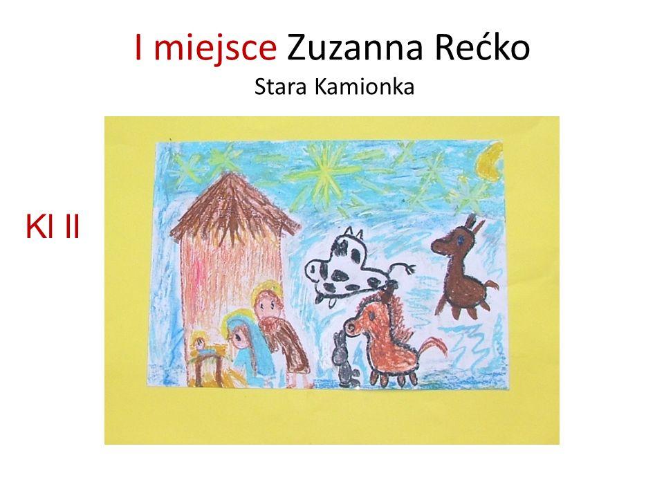I miejsce Zuzanna Rećko Stara Kamionka