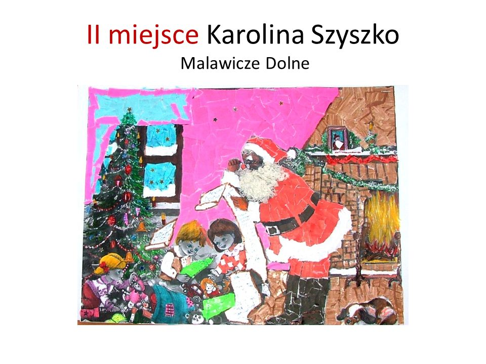 II miejsce Karolina Szyszko Malawicze Dolne