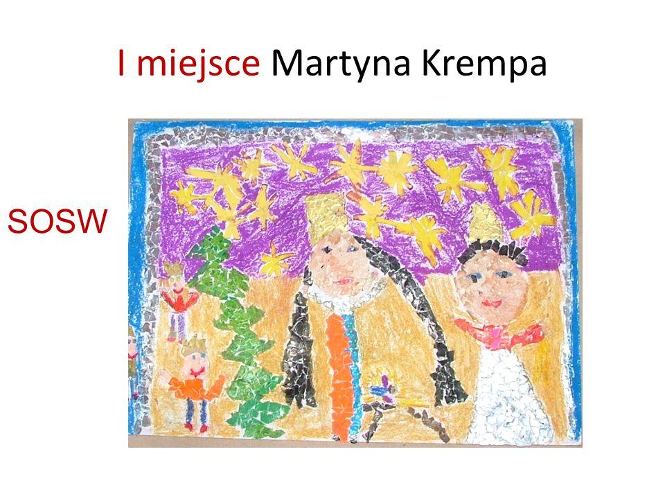 I miejsce Martyna Krempa