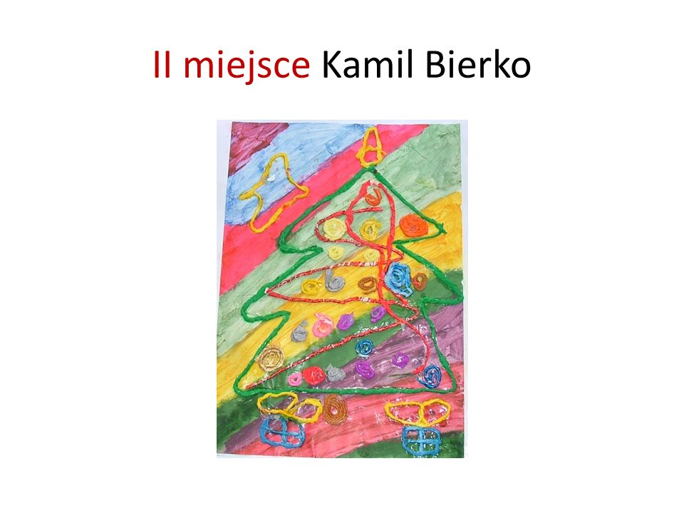 II miejsce Kamil Bierko