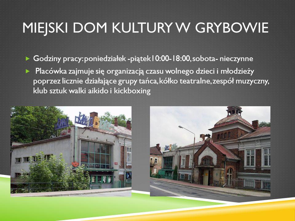 Miejski dom kultury w grybowie