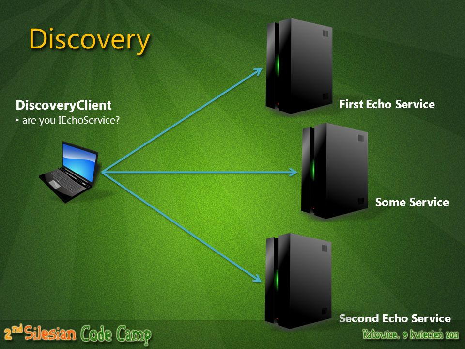 Discovery DiscoveryClient First Echo Service Some Service