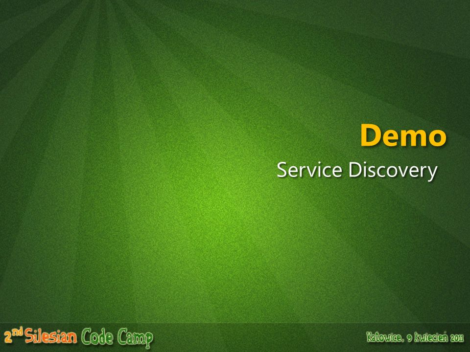 Demo Service Discovery